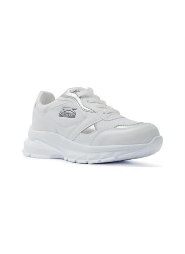 Slazenger Slazenger KANSAS Sneaker Kadın Ayakkabı    Gümüş